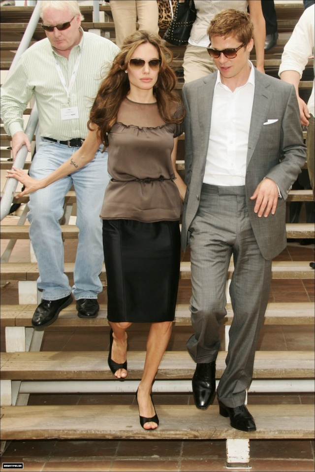 Brad and Angelina Movie Premieres  0_281310