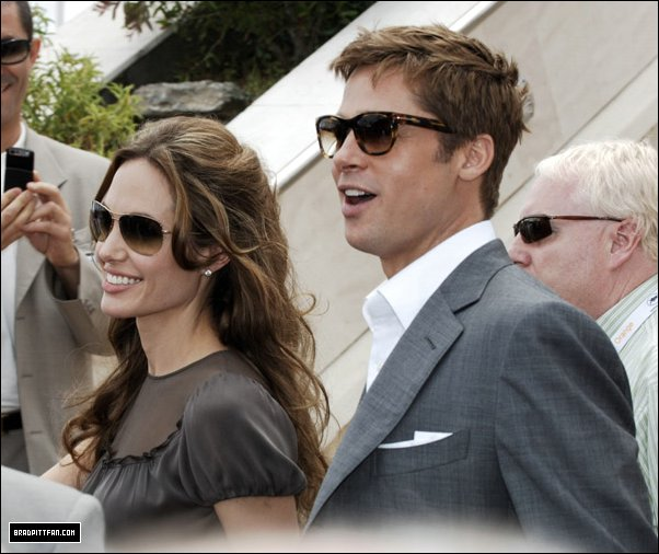 Brad and Angelina Movie Premieres  0_282410