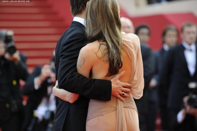 Brad and Angelina Movie Premieres  12428510