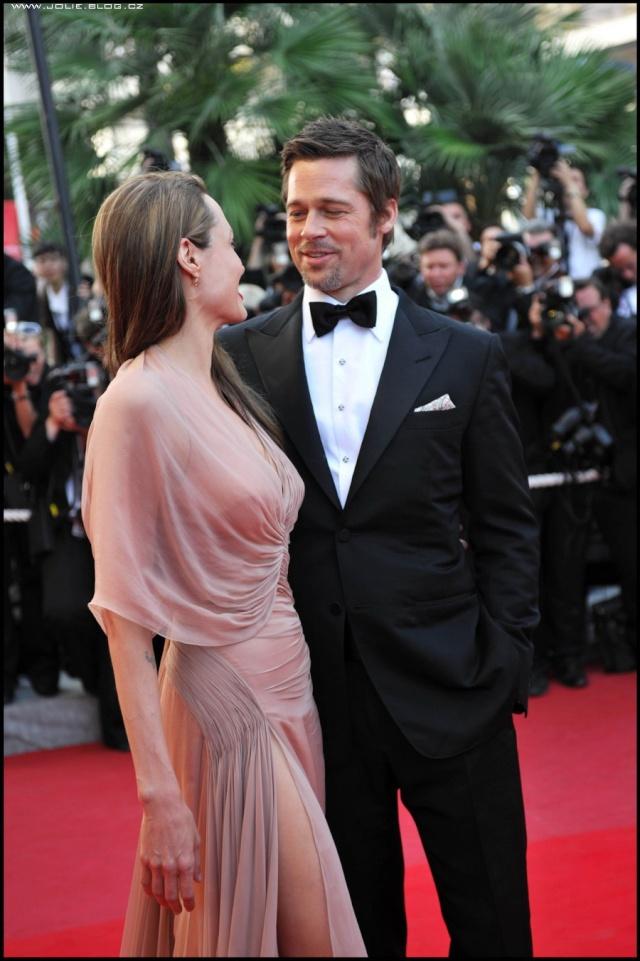Brad and Angelina Movie Premieres  12428514