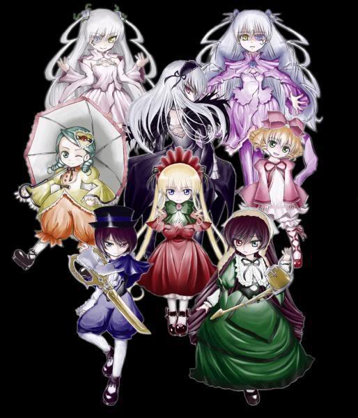 Rozen maiden (anime) Rozen10