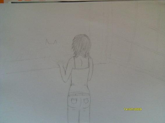 une fille et un chien (dessin en cours, besoin de conseils) Forum_21