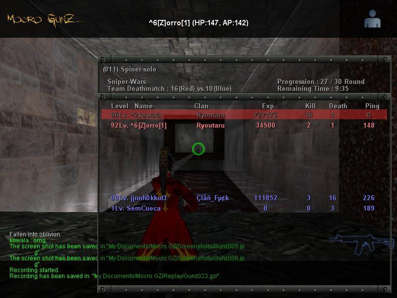My Beast Score And My Beast Friend [ZORRO] :p Gunz0012