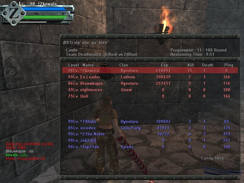 My Beast Score And My Beast Friend [ZORRO] :p Gunz0213