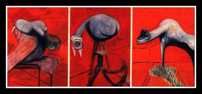 [Peinture] Francis Bacon 1909 - 1992 Trois_10