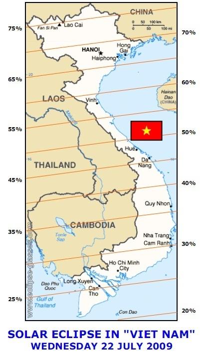 Nhật thực ở Việt Nam 22072010