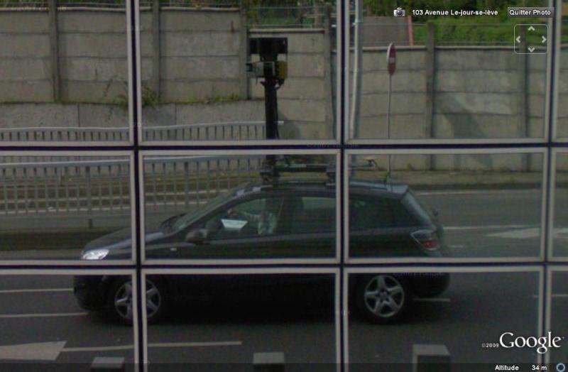 STREET VIEW : Les Google Cars en action Google12