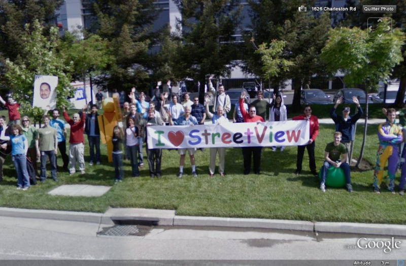 STREET VIEW : le campus Google Street10