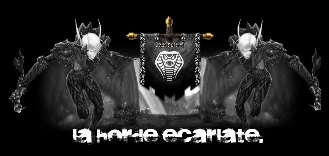 La horde Ecarlate
