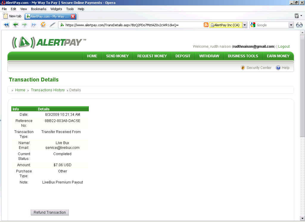 Thanks admin for quick payout-It is really nice to see $7.06 in my alertpay account-thanks New_pa10