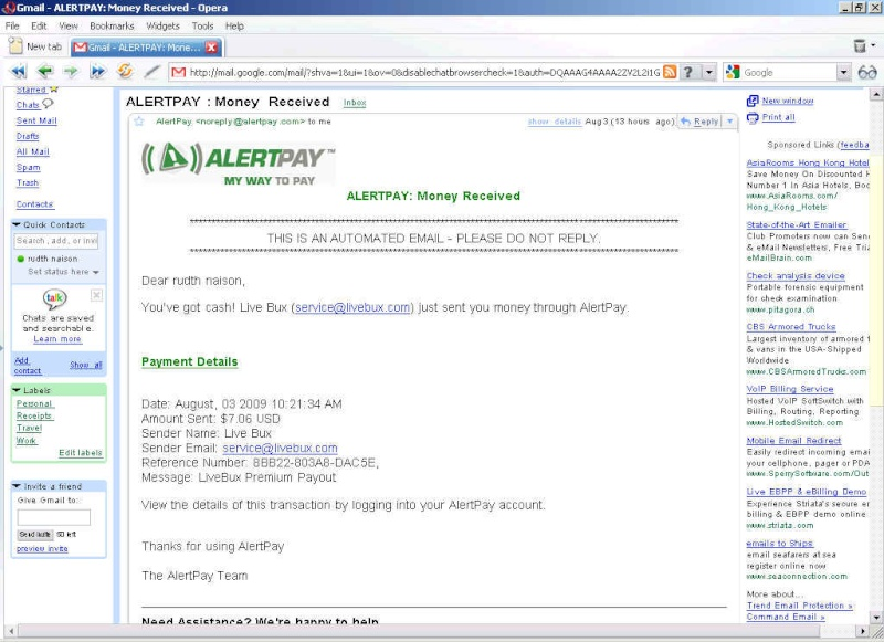 Thanks admin for quick payout-It is really nice to see $7.06 in my alertpay account-thanks New_pa11