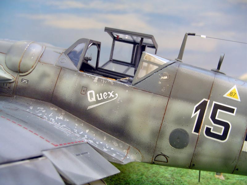 Out of box me109G6 Wolfru15