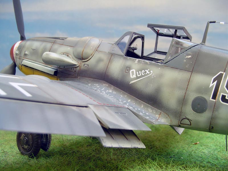 Out of box me109G6 Wolfru16
