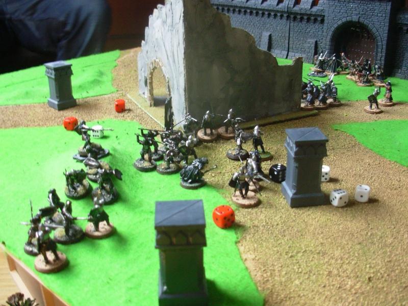 Rapport du Scnéario #2 : Première bataille. Hobby-10