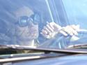 Angelina mais uma vez no transito,mas dessa vez sozinha 09.11.09 1812