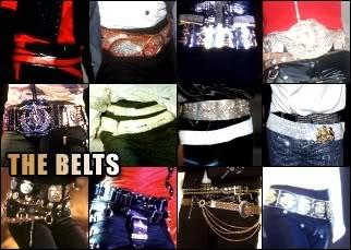 Vesturio de MICHAEL JACKSON Belts10