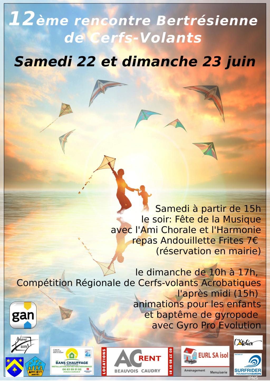 12ème rencontre bertrésienne de cerfs-volants Aff20111