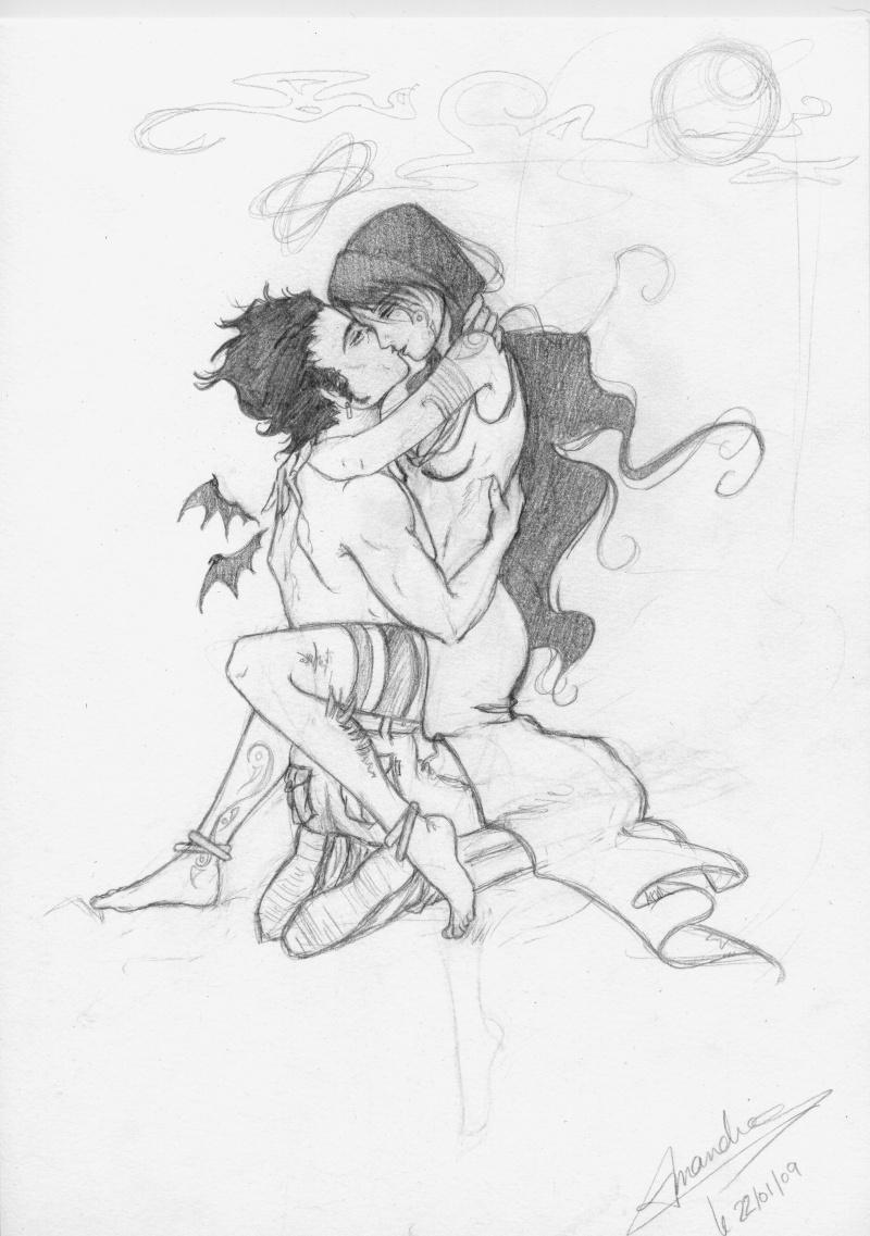 Crayonnés Twilight Edward11