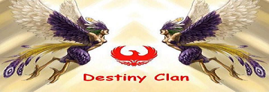 DESTİNY CLAN FORUMU