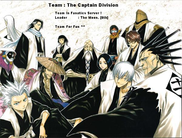 Struktur Dalam Bleach Team Captai10