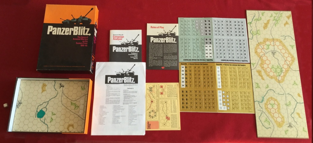 A vendre Field Alexander et Panzerblitz Panzer10