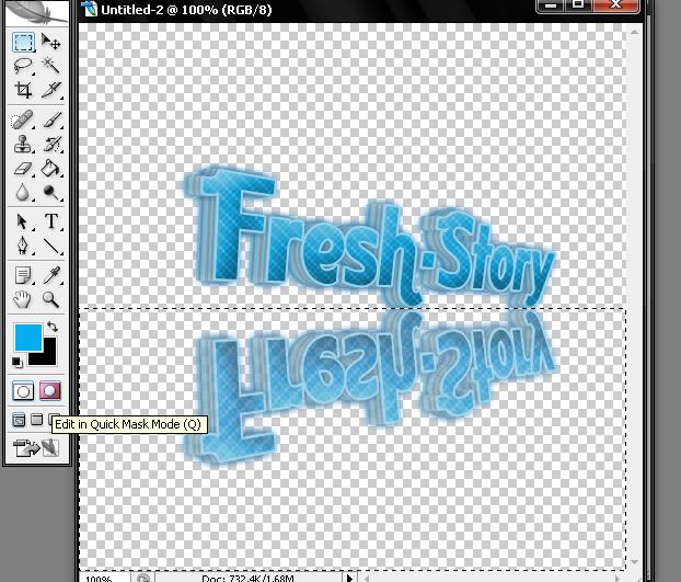 מדריך ללוגו ממש יפה 3D + השתקפות 1010