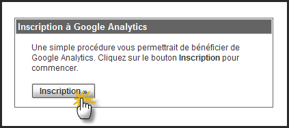 Intégration de Google Analytics 27-10-14