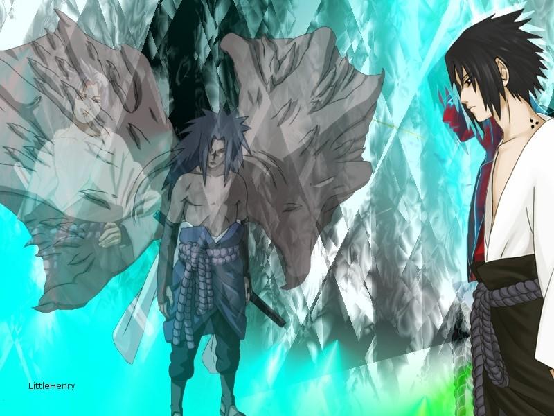 My latest Pictures i've made ( NOOB ) Sasuke10