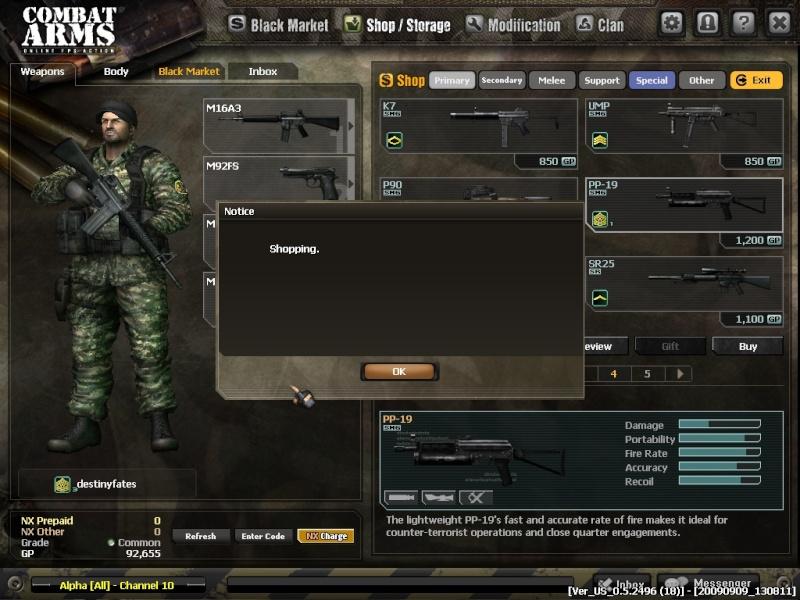 SGA Memorable Moment Combat12