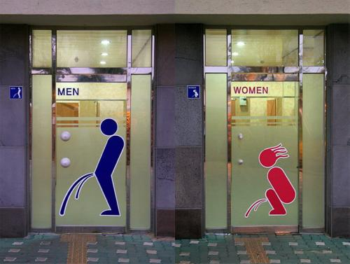 Restroom signs around the world [PIC] 3d16e910