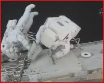 [STS-129] Atlantis EVA#1 (Foreman &Satcher) Eva10