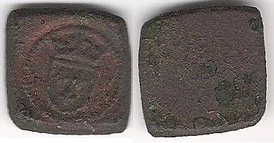 Poids monétaire pour l' Ecu à la Couronne OR Charles VI & Charles VII 1385-1435 Poids_10
