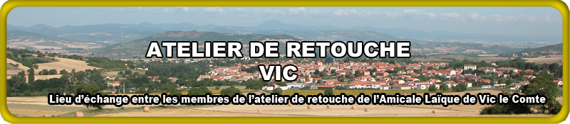 L'ATELIER DE   RETOUCHE VIC