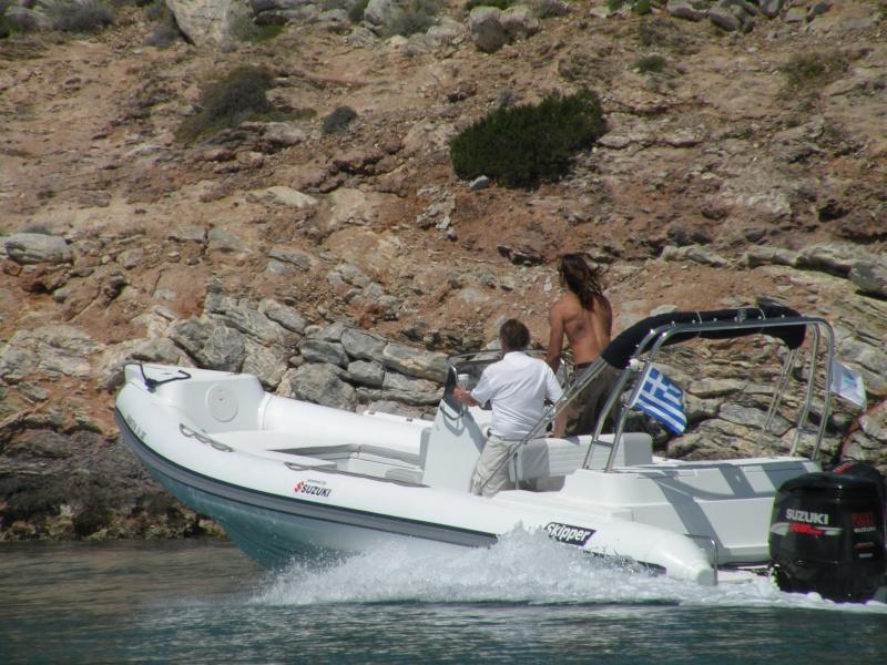 Skipper 800 with Suzuki 250 Dscn0510