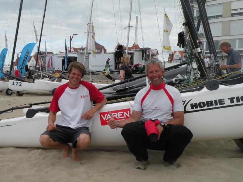 Bram Van Der Biest & Luc Geirnaert (BEL, Team Varen, F18 Cat, 2009 World Championships) Dscn0810