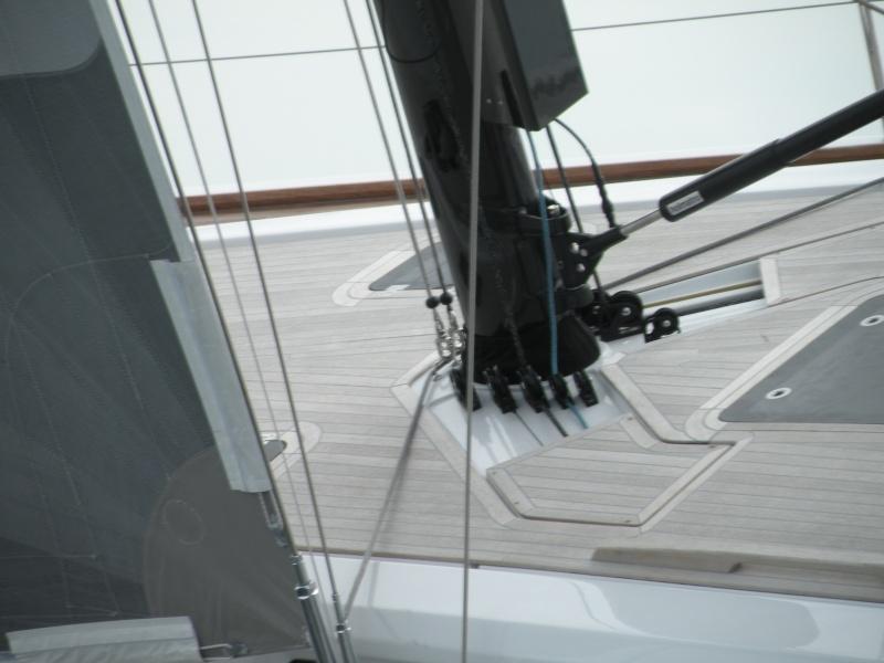 Grand Soleil 46 - Sea Trial - Mast Dscn1218