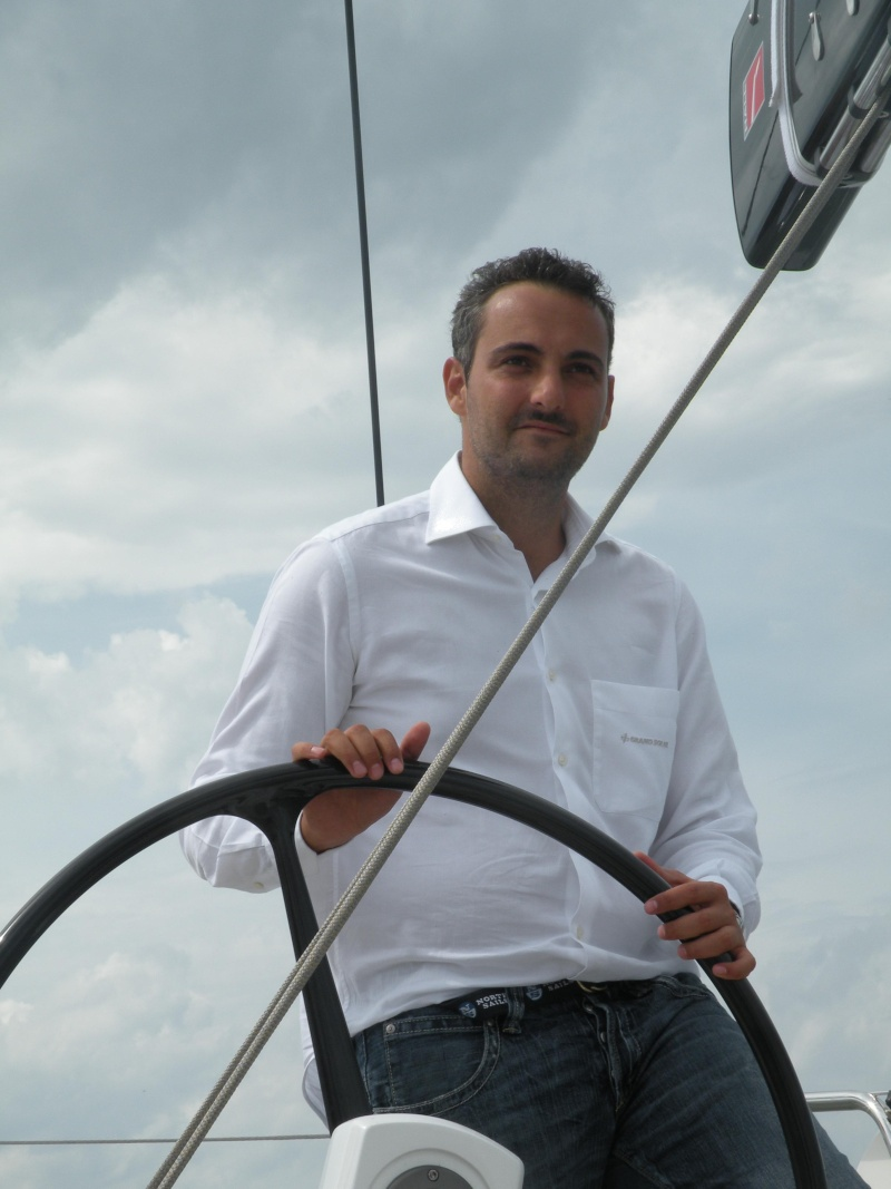 Gianguido Girotti (ITA, Grand Soleil, Technical Director and Head R & D) Dscn1220