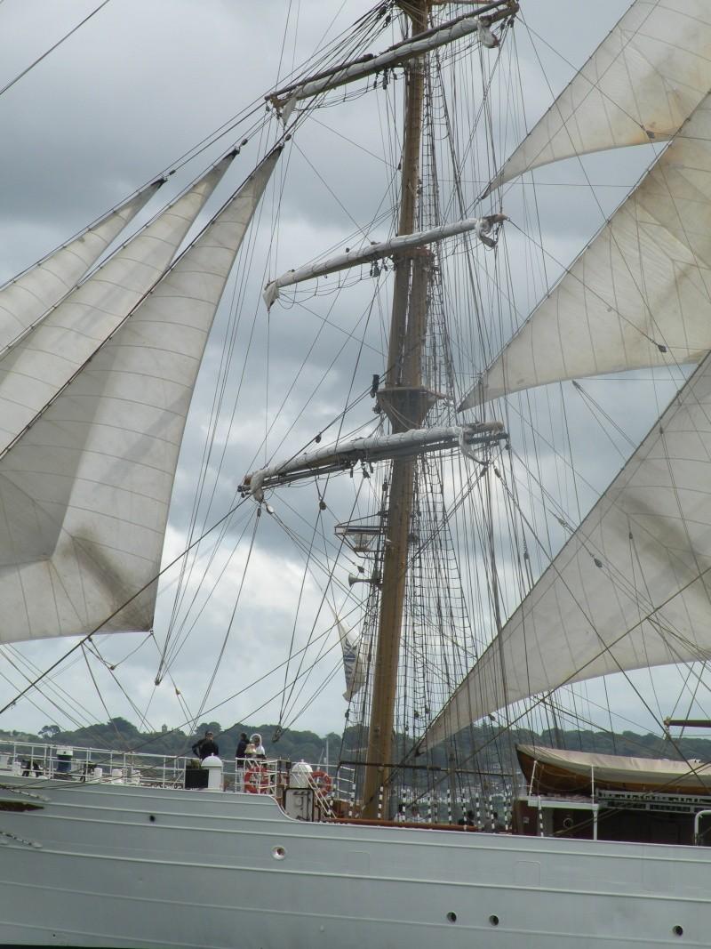 Tall Ships Atlantic Challenge 2009, Belfast - Parade of Sail - Detail Dscn1611