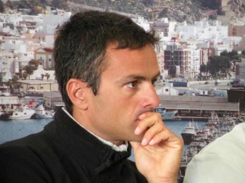 Franck Cammas (FRA, Groupama, 2009 iShares Cup) Dscn2211
