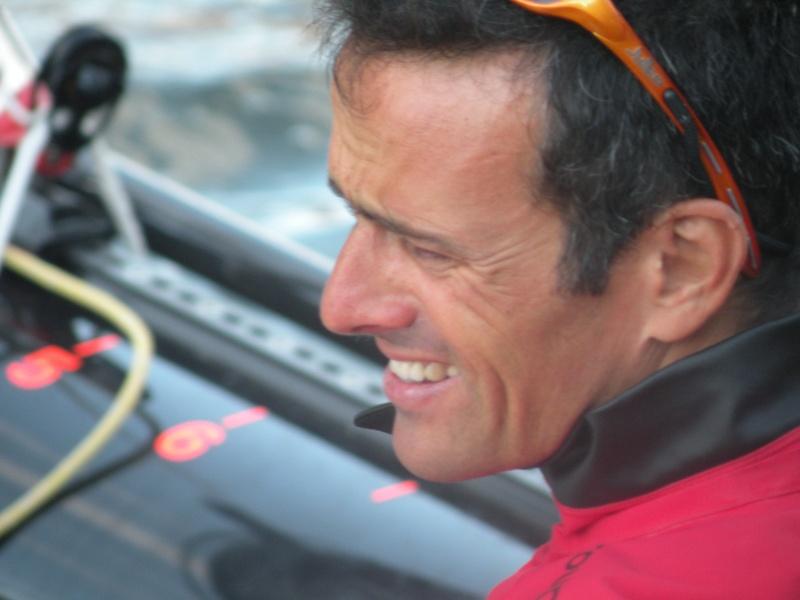 Franck Cammas (FRA, Groupama, 2009 iShares Cup) - 2 Dscn2322
