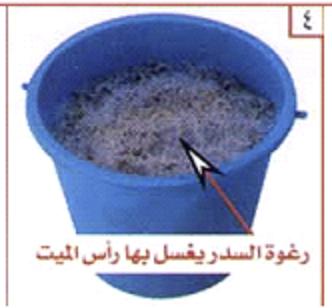 غسل الميت وتكفينه والصلاة عليه 0410