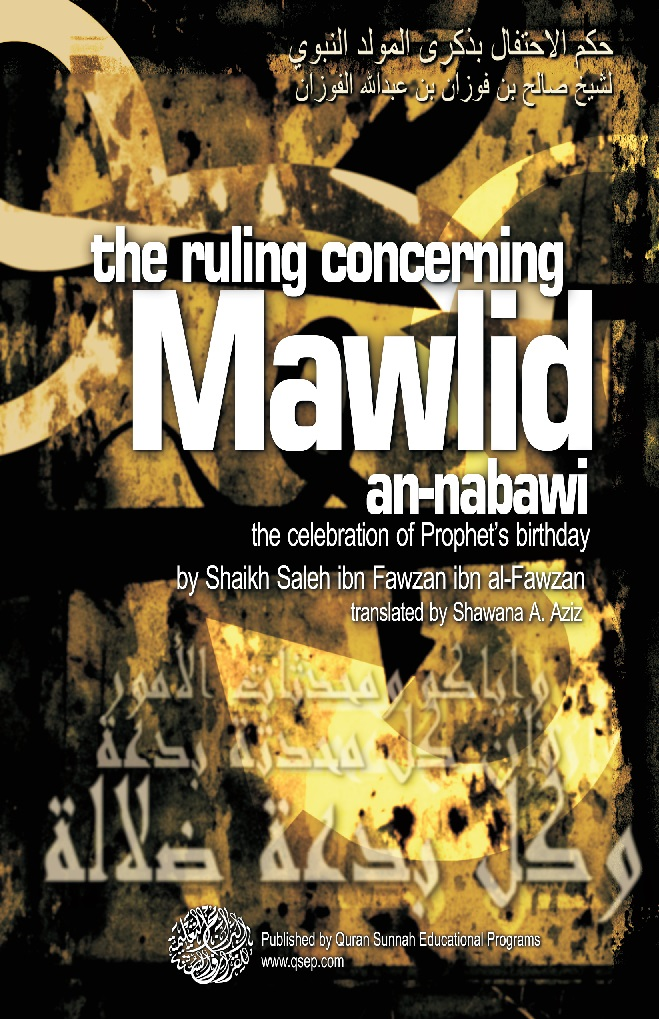 the ruling concerning Mawlid an-nabawi Untit177