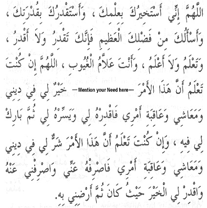 Istikharah: The Guidance Prayer Untit417