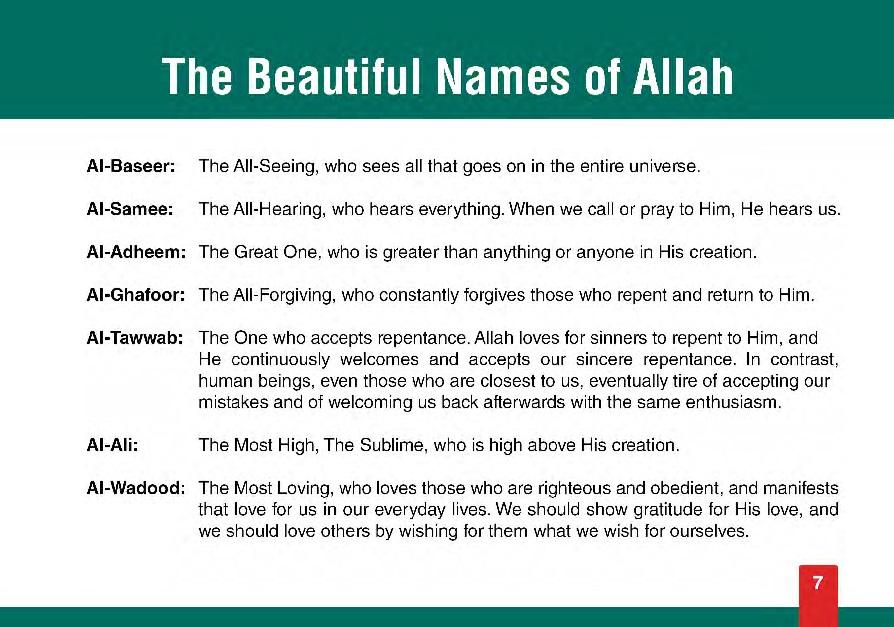 Beautiful Names of God (Allah) Untitl63