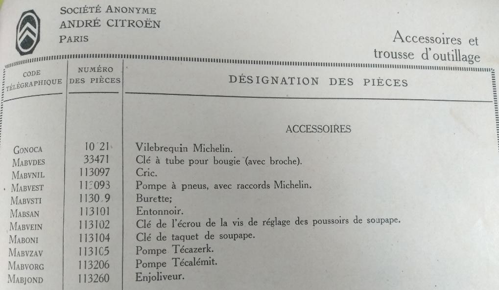 Accessoires et outillage Access10