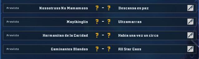 Copa Valkyrie Verano 2019 - Cuartos de final - hasta el domingo 15 de Julio 20190612