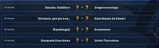 Campeonato Piel de Minotauro 9 - Grupo 1 / Jornada 6 - hasta el domingo 17 de Noviembre _grupo10