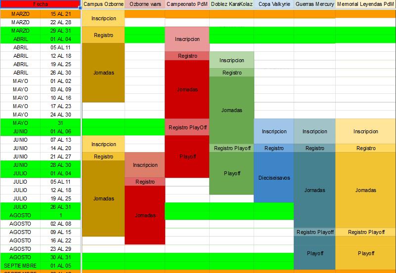 Calendario Competiciones Temporada 20-21 Calend14
