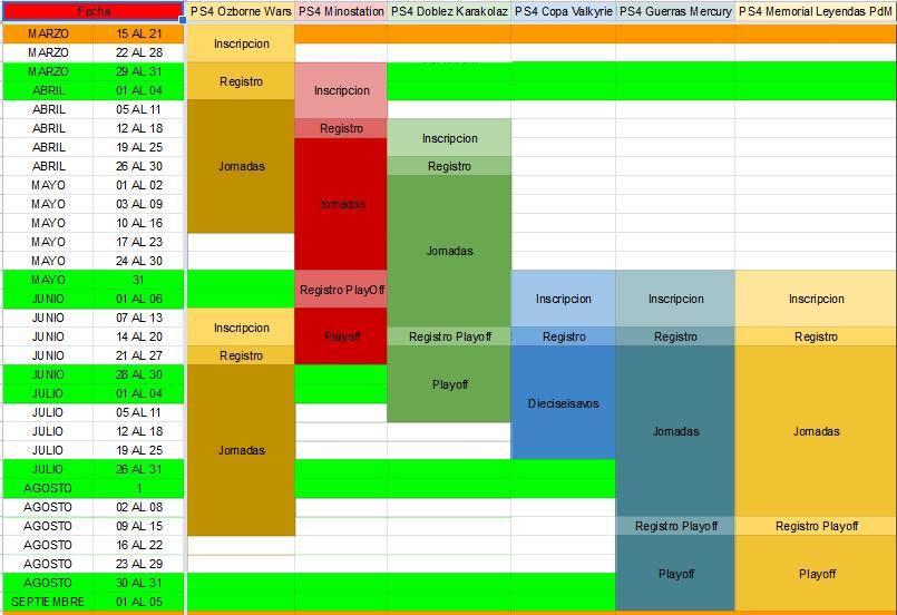 Calendario Competiciones Temporada 20-21 Calend15