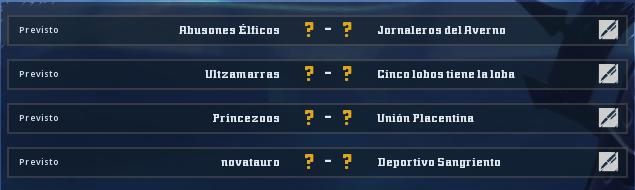 Campeonato Piel de Minotauro 11 - Grupo 2 - Jornada 1 hasta el 25 de Octubre Campeo11